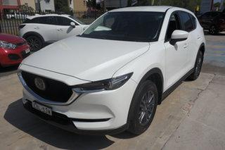 2019 Mazda CX-5 KF4WLA Maxx SKYACTIV-Drive i-ACTIV AWD White 6 Speed Sports Automatic Wagon.