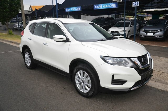 Used Nissan X-Trail T32 Series 2 ST 7 Seat (2WD) Toowoomba, 2017 Nissan X-Trail T32 Series 2 ST 7 Seat (2WD) White Continuous Variable Wagon