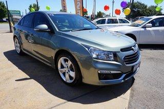 2015 Holden Cruze JH Series II MY15 SRi-V Prussian Steel 6 Speed Sports Automatic Sedan.