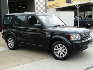 2009 Land Rover Discovery 4 Series 4 10MY TdV6 CommandShift Black 6 Speed Sports Automatic Wagon.