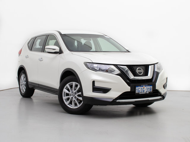 Used Nissan X-Trail T32 Series 2 ST (4WD), 2017 Nissan X-Trail T32 Series 2 ST (4WD) White Continuous Variable Wagon