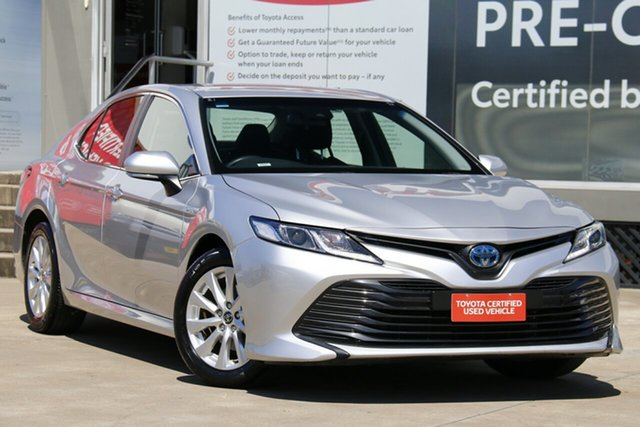 Pre-Owned Toyota Camry AXVH71R Hybrid Guildford, 2019 Toyota Camry AXVH71R Hybrid Silver 6 Speed Constant Variable Sedan