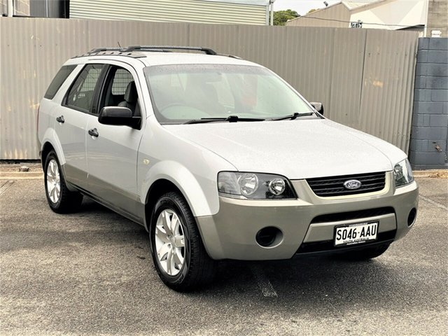Used Ford Territory SY TX Morphett Vale, 2008 Ford Territory SY TX Silver 4 Speed Sports Automatic Wagon