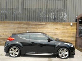 2013 Hyundai Veloster FS3 SR Coupe Turbo Black 6 Speed Manual Hatchback.
