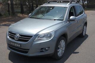2010 Volkswagen Tiguan 5N MY10 147TSI 4MOTION Grey 6 Speed Sports Automatic Wagon.