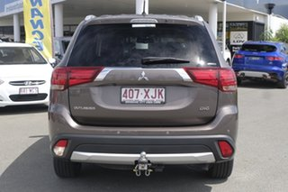 2016 Mitsubishi Outlander ZK MY16 Exceed 4WD Ironbark 6 Speed Sports Automatic Wagon