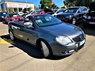 2010 Volkswagen EOS 1F MY11 103TDI DSG Grey 6 Speed Sports Automatic Dual Clutch Convertible.