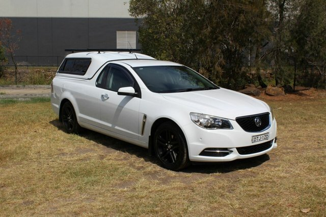 Used Holden Ute VF MY15 Ute Ormeau, 2014 Holden Ute VF MY15 Ute White 6 Speed Sports Automatic Utility