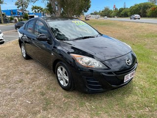2010 Mazda 3 BL10F1 Maxx Activematic Black 5 Speed Sports Automatic Sedan