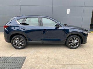2020 Mazda CX-5 KF4WLA Akera SKYACTIV-Drive i-ACTIV AWD Deep Crystal Blue 6 Speed Sports Automatic.