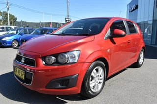 2012 Holden Barina TM Red 6 Speed Automatic Hatchback