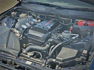 2003 Toyota Altezza SXE10 RS200 Blue Manual Sedan