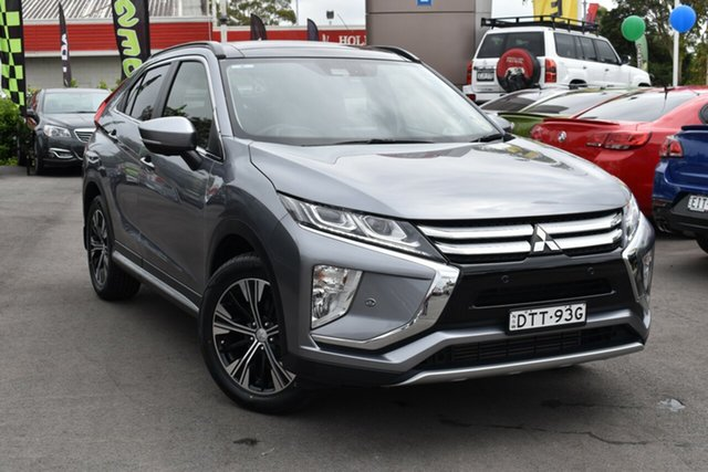 Used Mitsubishi Eclipse Cross YA MY18 Exceed 2WD Tuggerah, 2017 Mitsubishi Eclipse Cross YA MY18 Exceed 2WD Silver 8 Speed Constant Variable Wagon