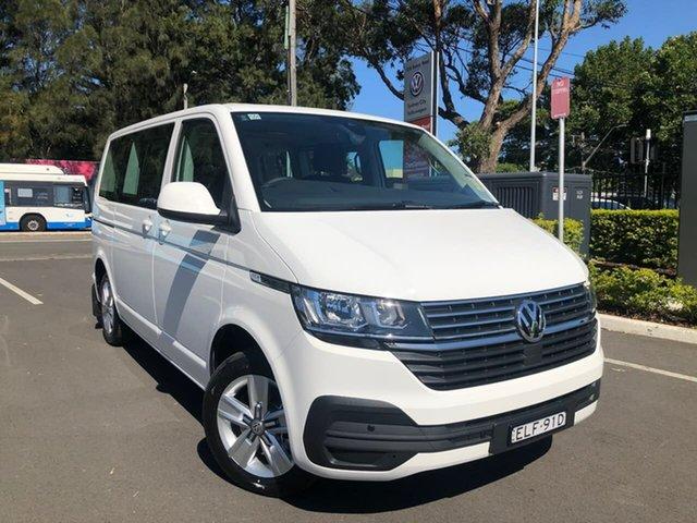 Demo Volkswagen Multivan T6.1 MY20 TDI340 SWB DSG Comfortline Premium Botany, 2020 Volkswagen Multivan T6.1 MY20 TDI340 SWB DSG Comfortline Premium White 7 Speed