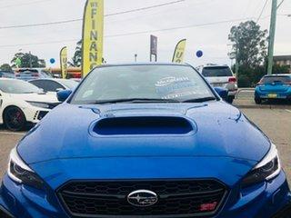 2020 Subaru WRX V1 MY20 STI AWD Premium Blue 6 Speed Manual Sedan