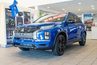 2020 Mitsubishi ASX XD MY21 GSR 2WD Lightning Blue 6 Speed Constant Variable Wagon.