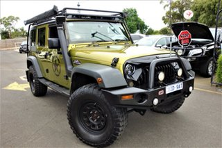 2008 Jeep Wrangler JK MY2008 Unlimited Sport Gold 6 Speed Manual Softtop.