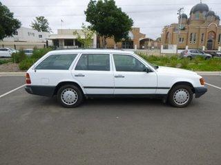 1986 Mercedes-Benz 230 W124 TE White Automatic Wagon.