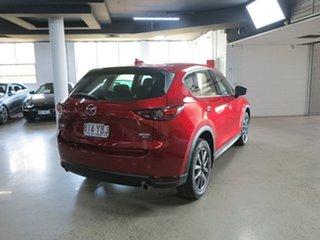 2018 Mazda CX-5 KF4W2A Akera SKYACTIV-Drive i-ACTIV AWD Red 6 Speed Sports Automatic Wagon