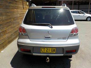 2003 Mitsubishi Outlander ZE XLS Silver 4 Speed Sports Automatic Wagon