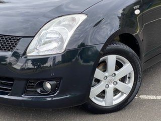 2008 Suzuki Swift RS415 S Black 5 Speed Manual Hatchback