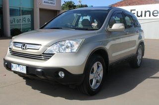 2007 Honda CR-V MY07 (4x4) Sport Gold 5 Speed Automatic Wagon.