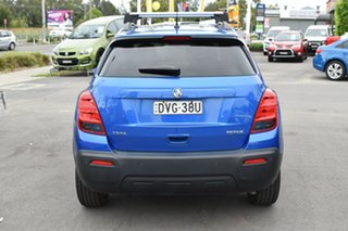 2016 Holden Trax TJ MY16 Active Blue 6 Speed Automatic Wagon