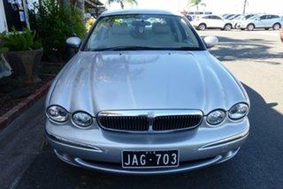 2002 Jaguar X-Type SE Silver 5 Speed Automatic Sedan.