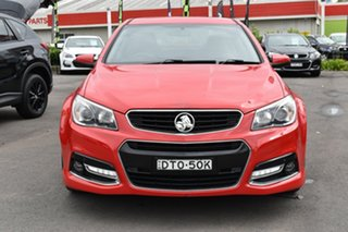 2014 Holden Commodore VF MY14 SV6 Storm Red 6 Speed Manual Sedan