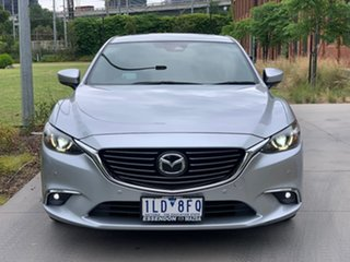 2017 Mazda 6 GL1031 Atenza SKYACTIV-Drive Grey 6 Speed Sports Automatic Sedan.