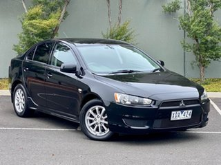 2010 Mitsubishi Lancer CJ MY10 Activ Black 6 Speed Constant Variable Sedan.