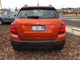 2015 Holden Trax TJ MY15 LS Orange Rock 5 Speed Manual Wagon.