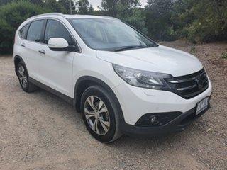 2014 Honda CR-V RM VTi-L White Sports Automatic Wagon.