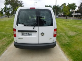 2013 Volkswagen Caddy 2KN TDI250 White Sports Automatic Dual Clutch Van