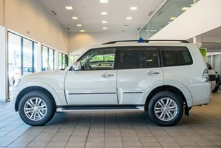 2020 Mitsubishi Pajero NX MY21 Exceed Warm White 5 Speed Sports Automatic Wagon.