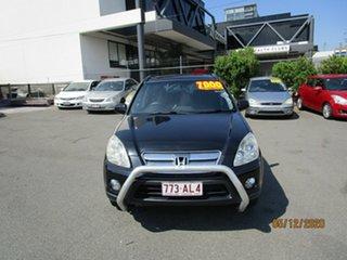 2004 Honda CR-V 2005 Upgrade (4x4) Sport Black 5 Speed Automatic Wagon.