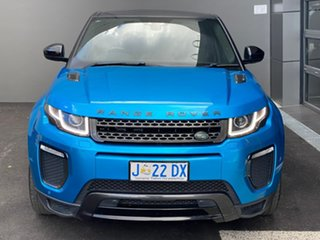 2017 Land Rover Range Rover Evoque L538 MY18 SE Dynamic Blue 9 Speed Sports Automatic Wagon.