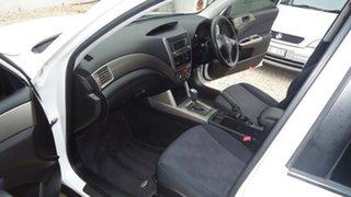 2009 Subaru Forester S3 MY09 X AWD White 4 Speed Sports Automatic Wagon