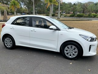 2019 Kia Rio YB MY19 S Clear White 6 Speed Manual Hatchback