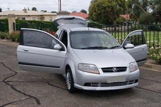 2007 Holden Barina TK MY08 Silver 4 Speed Automatic Hatchback.
