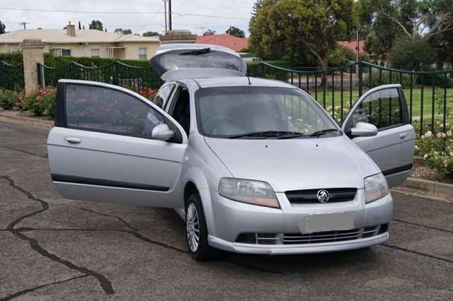 Used Holden Barina TK MY08 Blair Athol, 2007 Holden Barina TK MY08 Silver 4 Speed Automatic Hatchback
