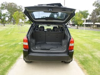 2007 Hyundai Tucson JM City SX Black Manual Wagon