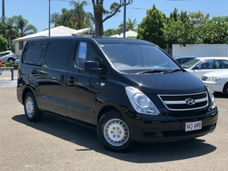 2011 Hyundai iLOAD TQ-V MY11 Black 5 Speed Sports Automatic Van.