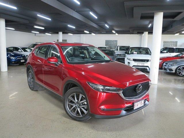 Used Mazda CX-5 KF4W2A Akera SKYACTIV-Drive i-ACTIV AWD Albion, 2018 Mazda CX-5 KF4W2A Akera SKYACTIV-Drive i-ACTIV AWD Red 6 Speed Sports Automatic Wagon