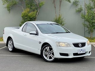 2010 Holden Ute VE II Omega White 6 Speed Sports Automatic Utility.