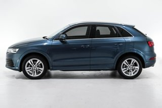 2018 Audi Q3 8U MY18 TFSI S Tronic Quattro Sport Blue 7 Speed Sports Automatic Dual Clutch Wagon