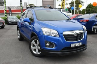 2016 Holden Trax TJ MY16 Active Blue 6 Speed Automatic Wagon.