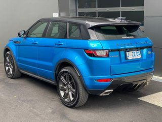 2017 Land Rover Range Rover Evoque L538 MY18 SE Dynamic Blue 9 Speed Sports Automatic Wagon