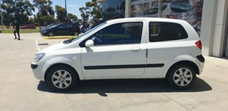 2010 Hyundai Getz TB MY09 S White 4 Speed Automatic Hatchback