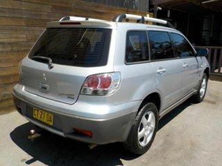 2003 Mitsubishi Outlander ZE XLS Silver 4 Speed Sports Automatic Wagon.